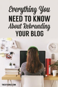 Are you ready for a change? Thinking about taking your blog in a new direction? It might be time to rebrand! Check out this list of everything you need to know about rebranding your blog to make your transition easier.