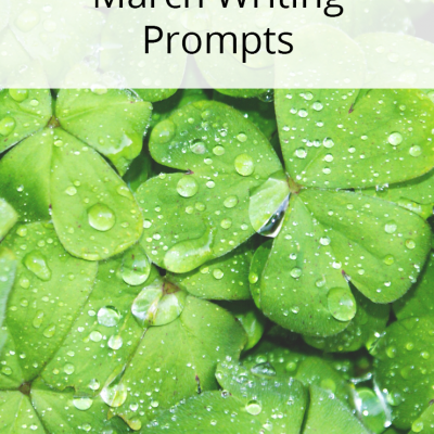 31 Days of Writing Prompts for March
