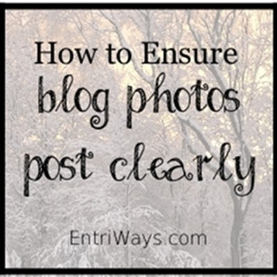 How to Ensure Blog Photos Post Clearly
