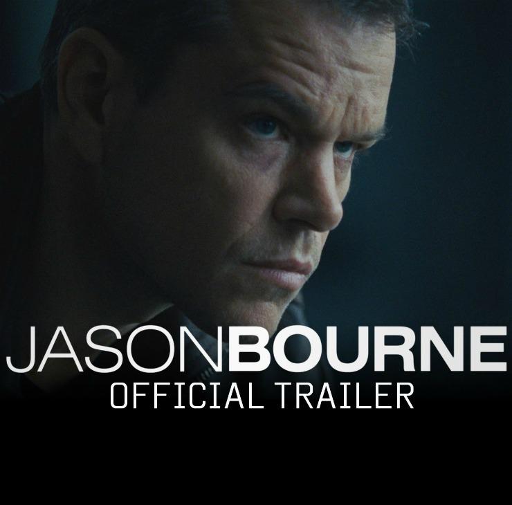 Jason Bourne 2016 Official Trailer