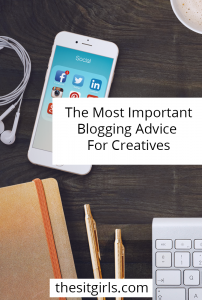 The most important blogging advice for creatives. Includes tips for email marketing, owning your online space, and more - plus a whole lot of inspiration.