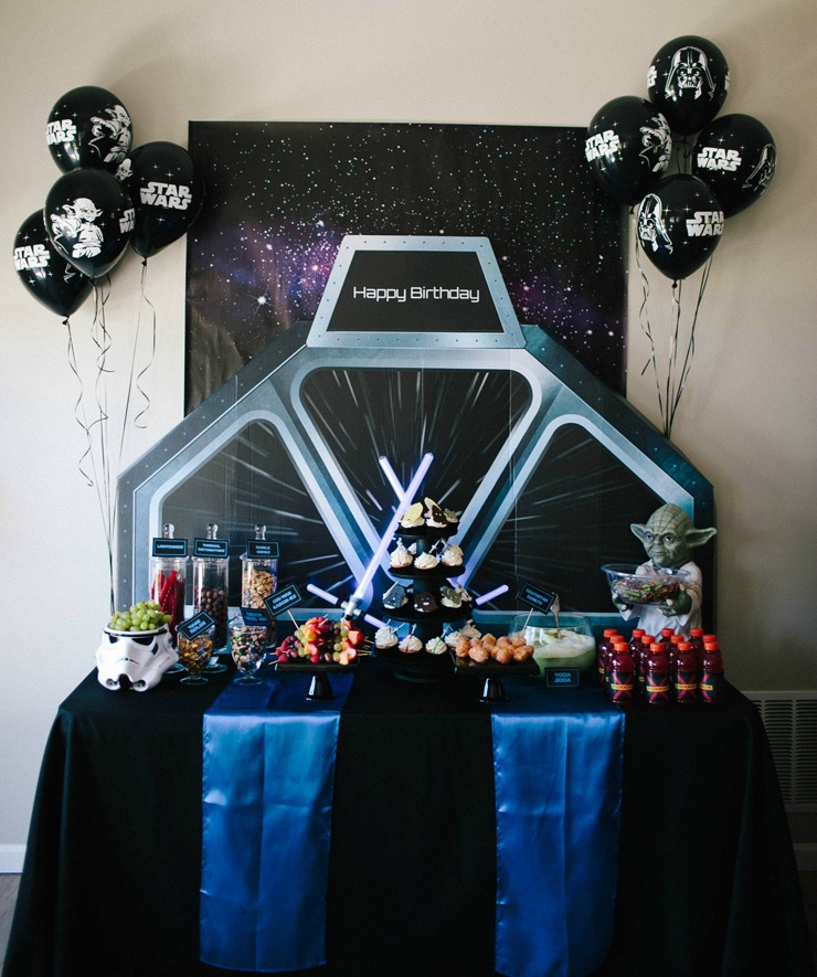 Star Wars Birthday Party Boy Birthday Party Ideas