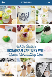Write stellar Instagram captions with these formatting tips, and help your posts stand out in the feed. | Social Media Tips