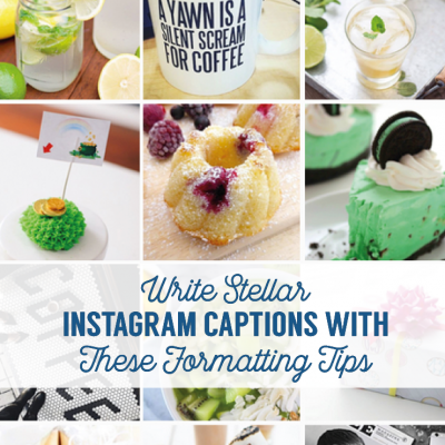 Write Stellar Instagram Captions With These Formatting Tips