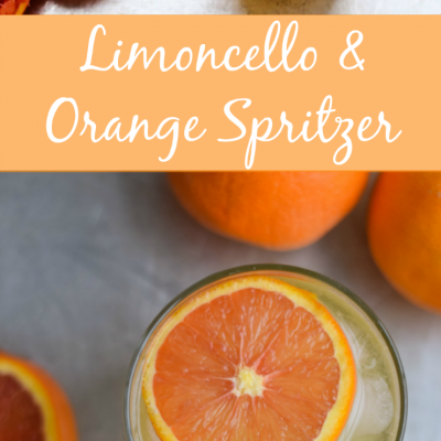 Limoncello and Orange Spritzer Recipe