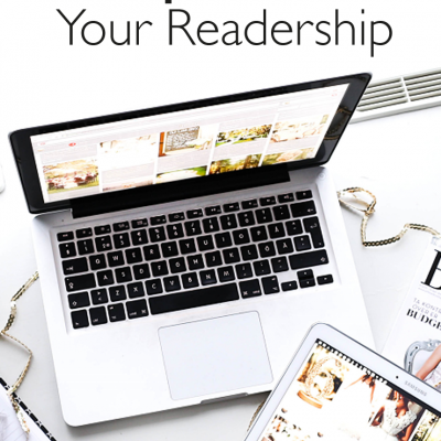 4 Blog Strategies To Help You Double Your Readership