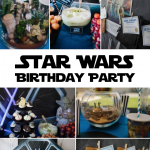 Star Wars Birthday Party Ideas | A Star Wars party is the perfect kids birthday party. Click through for inspiration and great tips to plan the perfect party for your favorite Jedi!