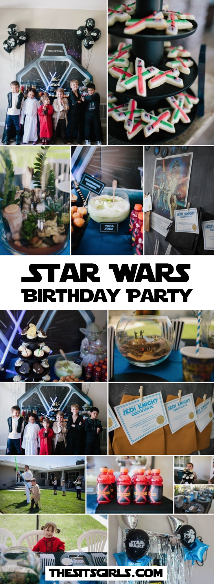 Star Wars Birthday Party Ideas | A Star Wars party is the perfect kids birthday party. Click through for inspiration and great tips to plan the perfect party for your favorite Jedi! May the force be with you.