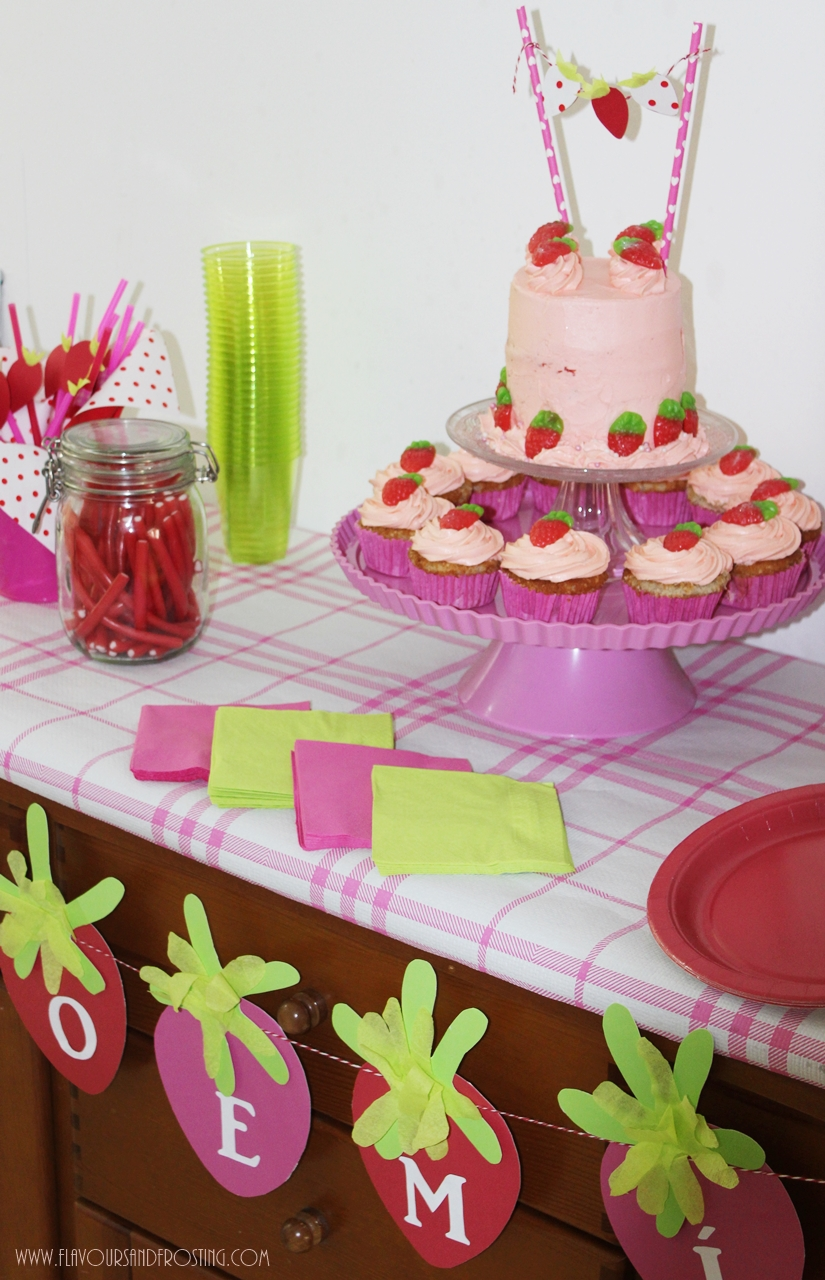 Strawberry Themed Party | First Birthday Party