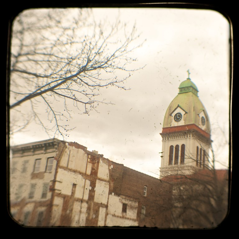 Clock Tower: Shooting Through The Viewfinder