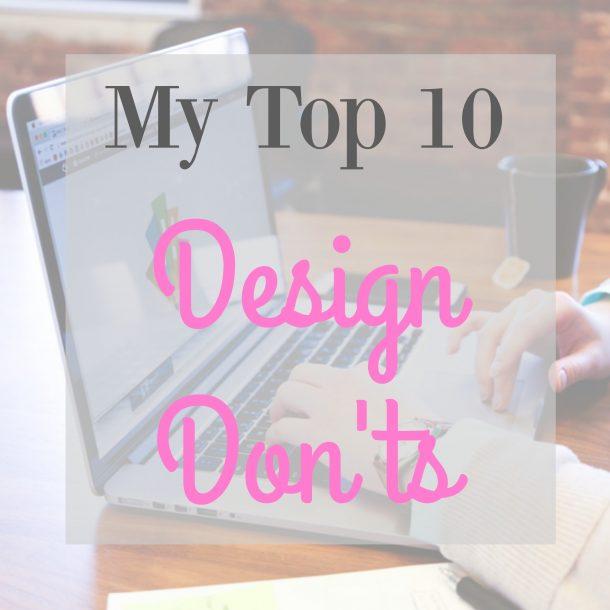 design don'ts