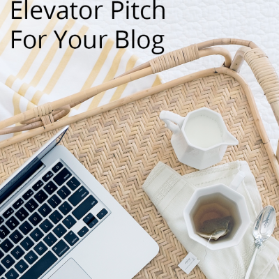 How to Craft an Intriguing Elevator Pitch For Your Blog