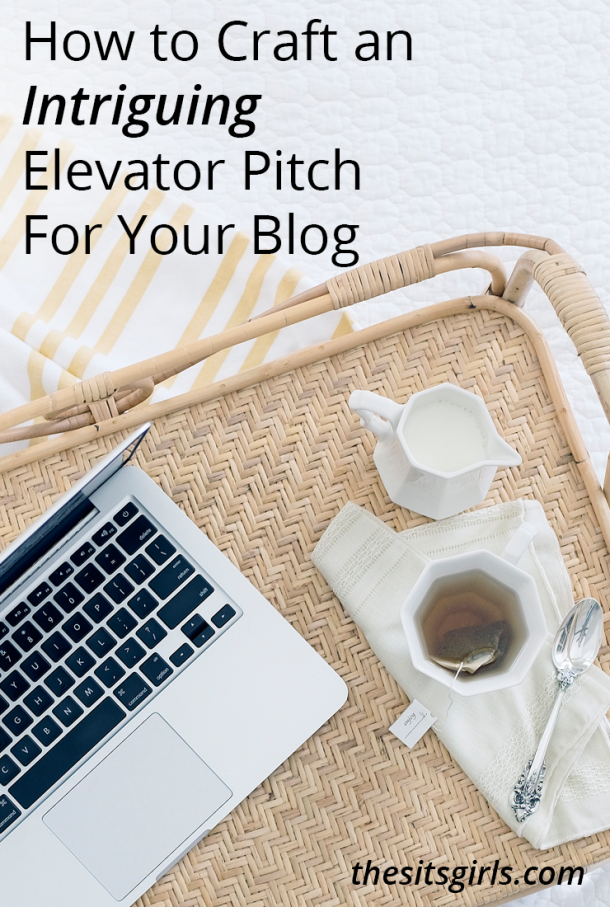 Can you explain your blog or business in the time it takes to go up one floor in an elevator? With these tips, you can! Learn how to create an elevator pitch that intrigues your listeners and helps you stand out from the crowd.