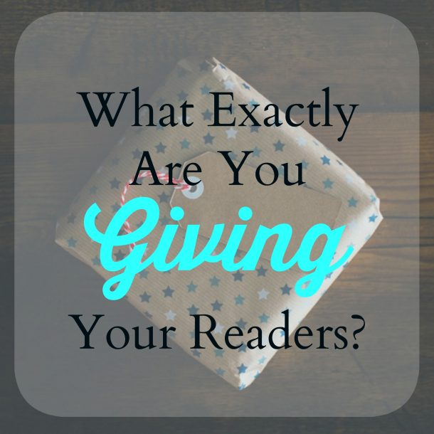 giving your readers