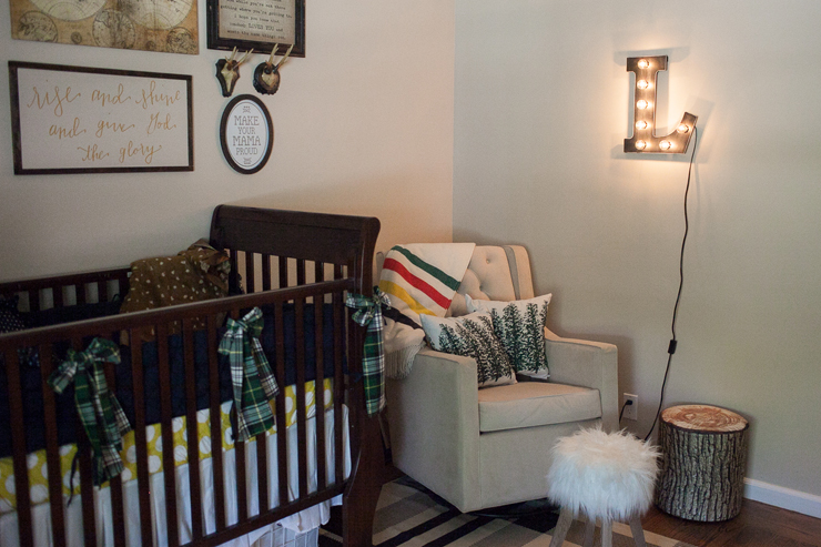 Add a fun marquee light to your nursery for some whimsy!