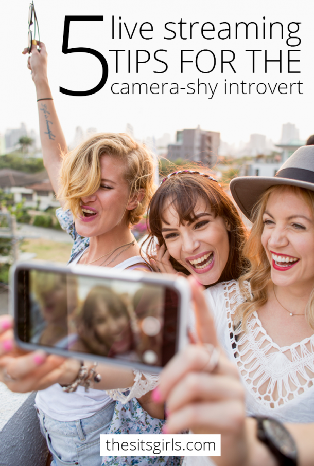 Is the thought of live streaming a little (or a lot!) scary for you? These live streaming tips will help — even if you are a camera-shy introvert! You'll be ready to rock Periscope and Facebook Live.