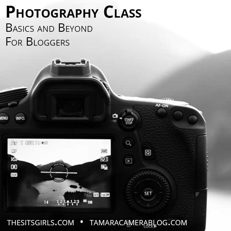 Free Photography Class: Basics And Beyond For Bloggers