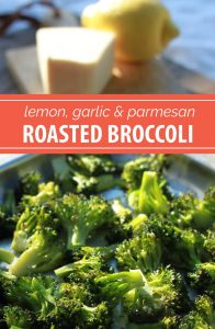 Lemon, Garlic, & Parmesan Roasted Broccoli Recipe | A quick and easy side dish recipe you can make any night of the week. Plus, a tip for roasting broccoli that will change your cooking life.