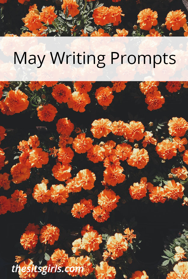 Writing prompts for each day of May to give you writing inspiration and help you write and blog all month long.