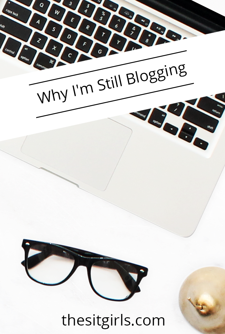 Do you ever feel discouraged with your blog? Wonder if your words mean anything? Click to read about one blogger's journey and find out why she still blogs.