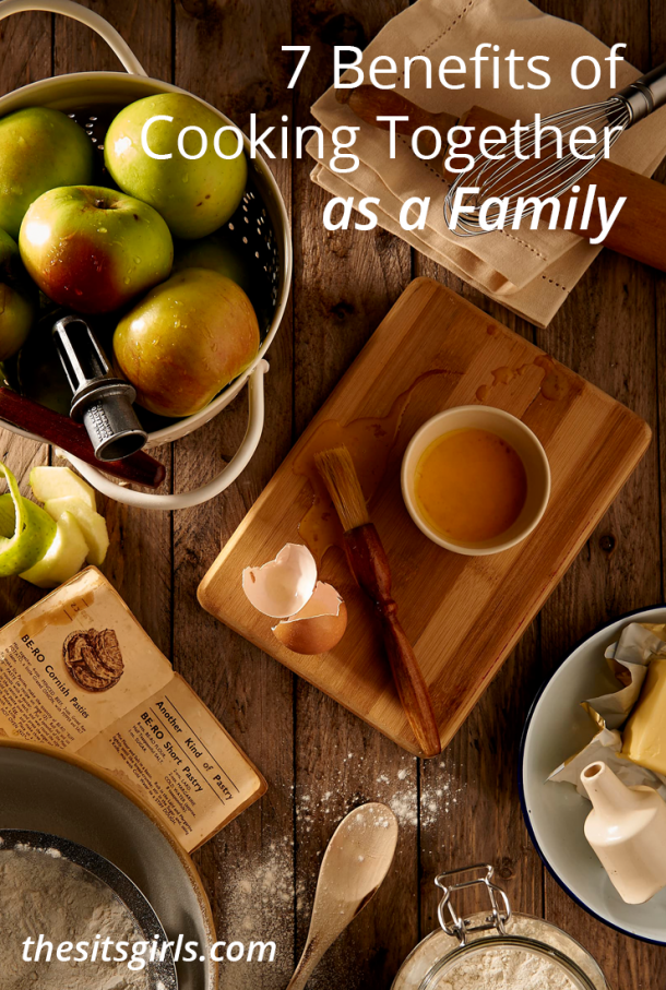Cooking together as a family is a special time. Learn about some of the benefits and start a new tradition with your family today.