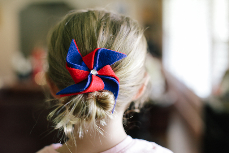These cute 4th of july clips are so easy to make!