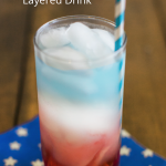 How To Make A Red, White, & Blue Layered Drink
