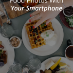 Food photography is an art. While you may have an area set up in your home to take pictures, most of the time you are photographing food you are out on the go and using your smartphone. These 10 photography tips will help you capture the perfect food shot