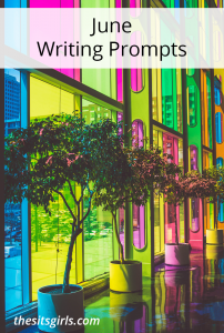 Get ready to write this month! 30 writing prompts that will inspire you to write great blog content every day in June.