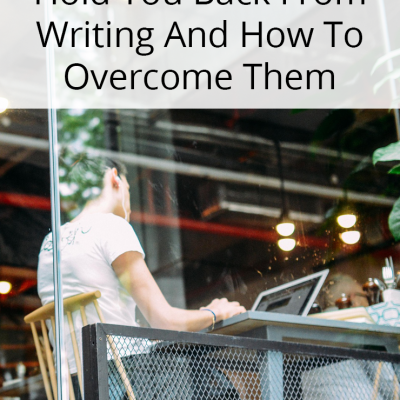 5 Obstacles That Hold You Back From Writing And How To Overcome Them