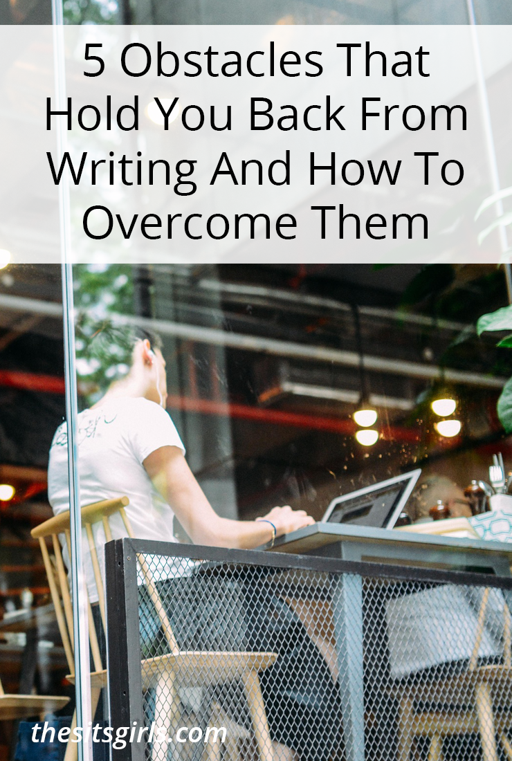 Learn how to overcome common writing obstacles that can hold you back from writing. These writing tips will help!