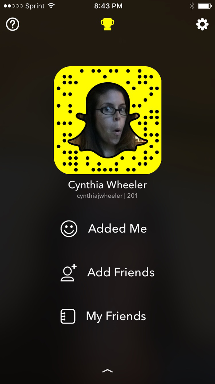 cynthiajwheeler on snapchat