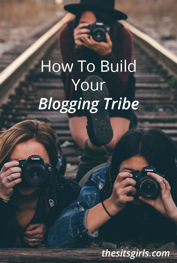 To really see all the benefits of blogging, you need a blogging tribe who are walking this path with you. Learn how to build your tribe, and get connected! | Blog Tips