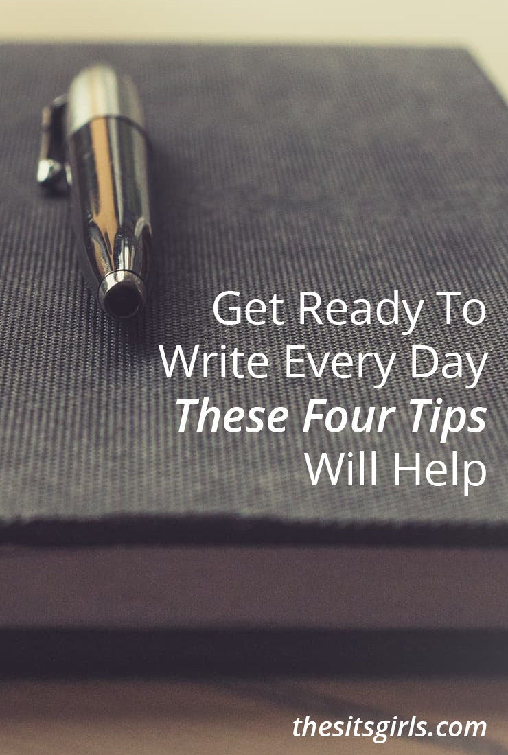 Without content, you can't build a blog. Use these four tips to help you write every day (even if you don't publish every day), and hone your blogging skills.