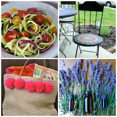 July 19th: Recipe & DIY Linky