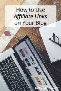 Make money online with affiliate links on your blog. This is a great way to earn passive income.