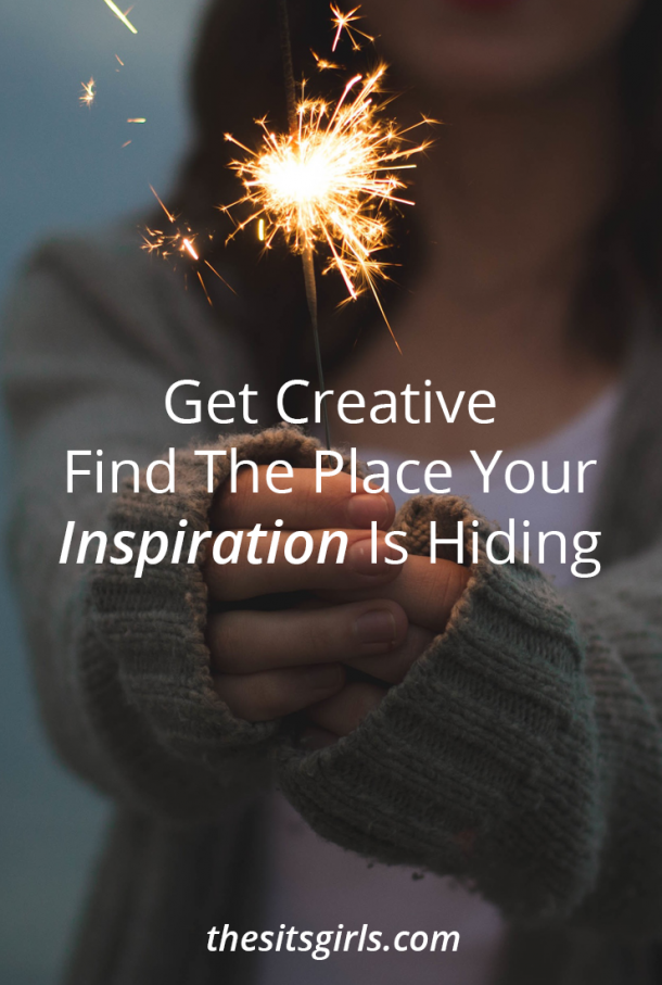 Inspiration is hiding everywhere. Don't let your writer's block win, get creative and go find it! These tips will help.