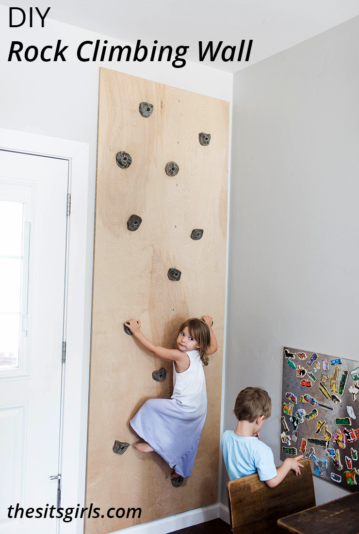 Diy Rock Climbing Wall Playroom Idea Build A Climbing Wall