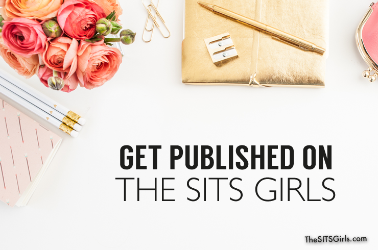 Get all the details on how to submit a guest post to get published on The SITS Girls.