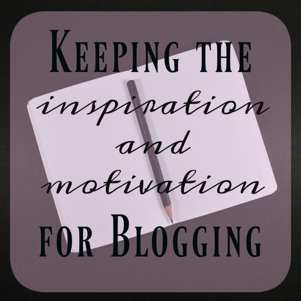 motivation for blogging