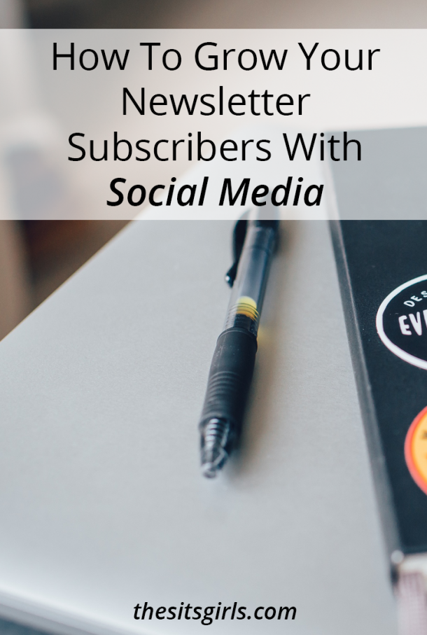 Your email list is the most important thing to grow. It is yours, moves with you, and isn't dependent on social media platforms and their algorithm changes. Use these tips to grow your newsletter subscribers on social media.
