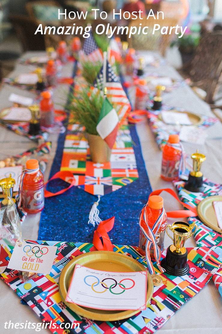 Free Dinner Party Games Ideas Part - 18: Everything You Need To Throw The Best Olympic Party! Includes Free  Printables And Olympic Party
