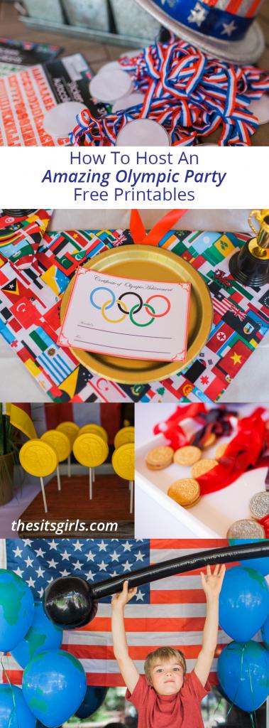 This year throw a fun Olympics themed bash!