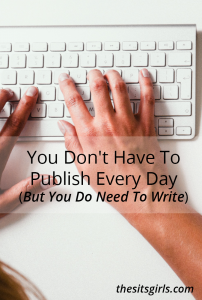 Writing every day is a practice that will help you become a stronger writer. A great way to do this is morning pages. You won't publish this material, but the exercise will help you grow.