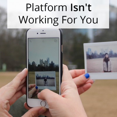 How To Know A Social Media Platform Isn't Working (And Why It's Okay to Walk Away)