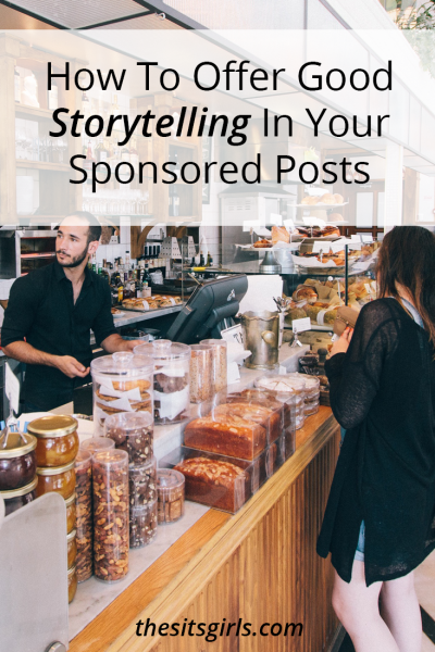 Sponsored posts don't have to read like dry advertisements. Use these tips to offer your readers (and sponsors) good storytelling with which to showcase the product you are sharing. It's a win-win-win situation!