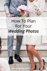 Three simple tips to help you plan for your wedding photos. Make sure you are set up to have wonderful photographs of your special day to treasure forever.