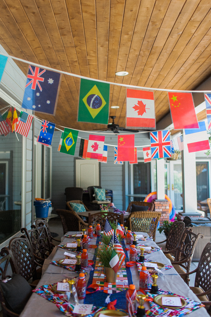 How to throw an amazing olympic party