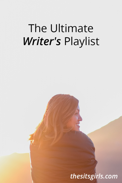 Writing Tip | Music can inspire you and help you push through when you need to focus on your writing. We've put together the ultimate writer's playlist for you to use. It's a great mix of old and new songs.