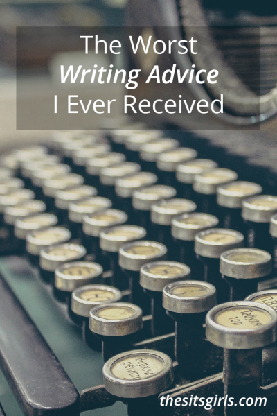 Blogging is very different from journalism or writing college papers. Here is a collection of the worst writing advice for bloggers (plus a few good writing tips that will actually help you)!